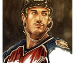 Joe Sakic ( a portrait )