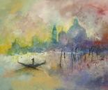 Evening Gondolier