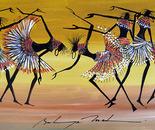 Maasai harem dance