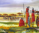 the pride of Maasai