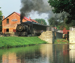 Steaming past the Gristmill