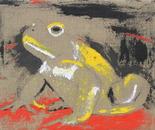 Toad in blackwhiteredyellow