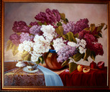 Still-life with a lilac