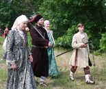 Russian family 1707