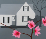 House with Peach Blossoms