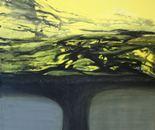 olive tree, acryl, 1.00/1.00/4