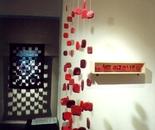 "Textile installation ""Lifesteps"""