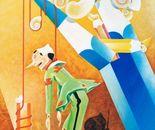 Pinocchio( omaggio a Collodi )_ acrilico su tavola cm. 100 x 70
