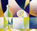 Prime luci all'alba_acrilico su tela sabbiata cm. 100 x 50