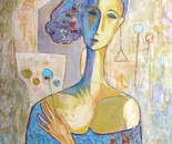 Oil on canvas 38x46 cm