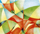 Ibiscus_pastello policromo su cartoncino Fabriano_cm.40 x 30