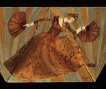 Fan Dancer Triptych