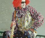 Fat Tuesday's Tall Clown