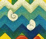 Il sogno_acrilico su tavola sabbiata cm.50 x 25