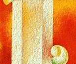 Scomposizione _acrilico su tavola sabbiata cm.50 x 20