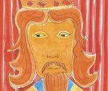 Volto di re ( a lezione da Pontecorvo ) acquerello