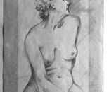 Lezione di nudo_caboncino su cartoncino