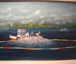30x50 cm Fishermen