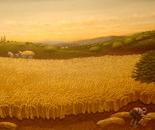 harvest worker dimension 40 x100 cm