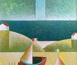 Omaggio a Imos Corradin_acrilico st tavola sabbiata c. 40 x 50