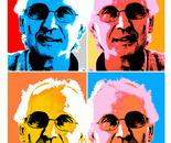 """Omaggio a me stesso """"Corrado Alderucci """" stampa digitale su cartoncino"""