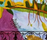 Leopard Balcony