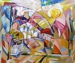 "Summer  - oil on canvas,, 32x35"""