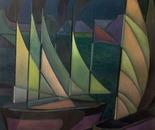 "Pier - oil on canvas,22x28"""
