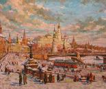 Moskva-20 vek (oil 50x90)