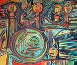 senza titolo 28_olio su tela