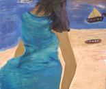 Lady On The Beach.