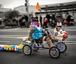 Clown On Wheels