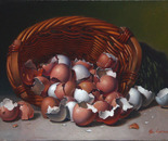 """All In One Basket, 12""""x16"""""""