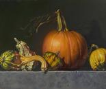"""Autumn Icons, 16""""x24"""""""