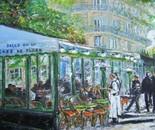 Café de Flore, Bld St. Germain, Paris