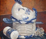 Three- Ceramic Chick