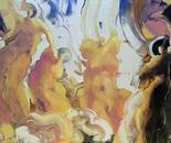 Blonde Venus - Oil on Canvas 48x72 (122x183cm)