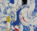 Flight of the Hummingbird - Oil on Canvas 48x60 (122x152cm)