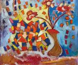 Vaso con fiori 2009