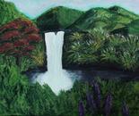 Hawaiin Waterfall