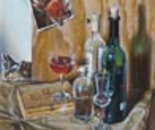 Still Life with Chilean Wine,