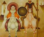 Dom quijote y sancho pança