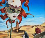 Intergalactic Penguin and the Venetian Mask