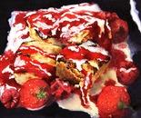 Marshmallows, Cream & Coulis