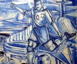 Série Futebol 1 - 2012 - AST - 100X100cm