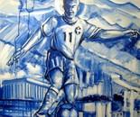 Série Futebol 2 - 2012 - AST - 100X100cm