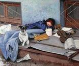An orphan from Chisinau. OMNIA MEA MECUM PORTO.