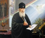 Conversation with the Patriarch of Moscow and All Russia Alexy II(February 23, 1929 - December 5, 2008), under the arches of the Moldavian monastery. Vision of December 10, 2008.