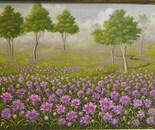 40x60 cm bell flowers