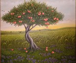 40x40 cm apple tree